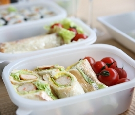 Recipe Easy Lunchbox Chicken Wraps